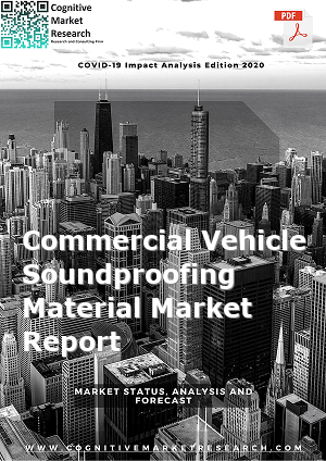 Global Commercial Vehicle Soundproofing Material Market Report 2021