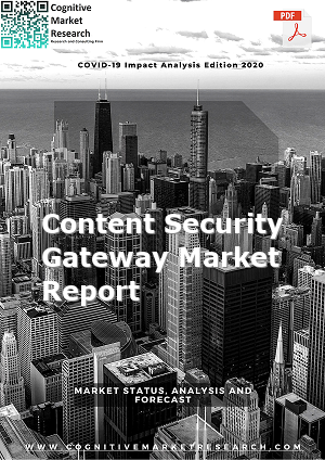 Global Content Security Gateway Market Report 2021
