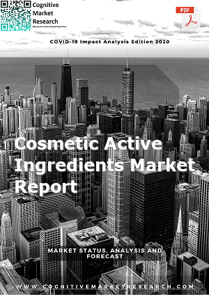Global Cosmetic Active Ingredients Market Report 2021