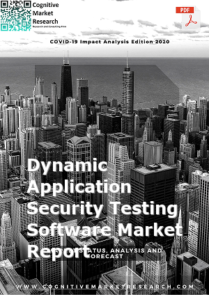 Global Dynamic Application Security Testing Software Market Report 2021