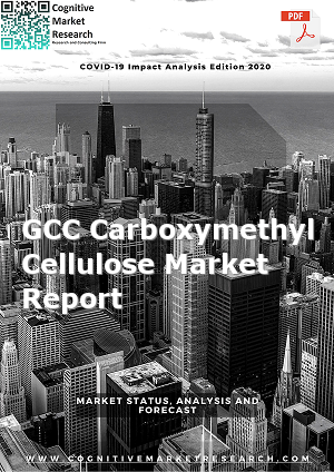 Global GCC Carboxymethyl Cellulose Market Report 2021