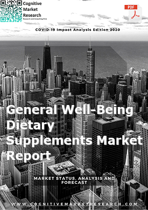 Global General Well Being Dietary Supplements Market Report 2021