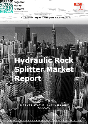 Global Hydraulic Rock Splitter Market Report 2021