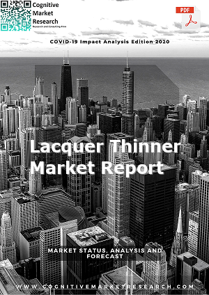 Global Lacquer Thinner Market Report 2021