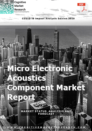 Global Micro Electronic Acoustics Component Market Report 2021