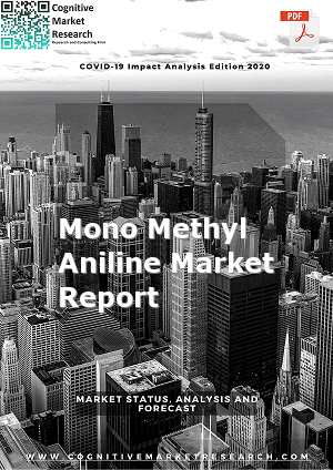Global Mono Methyl Aniline Market Report 2021