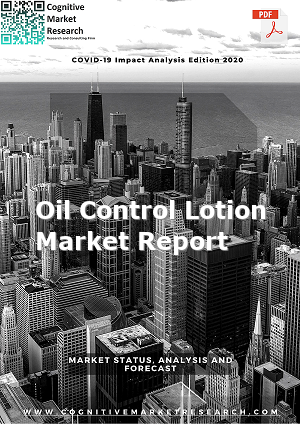 Global Oil Control Lotion Market Report 2021