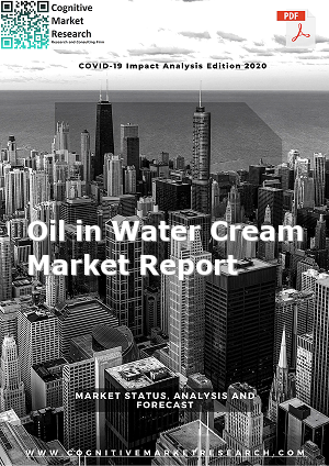 Global Oil in Water Cream Market Report 2021