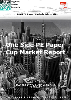 Global One Side PE Paper Cup Market Report 2021