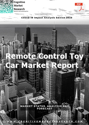 Global Remote Control Toy Car Market Report 2021