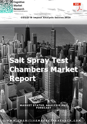 Global Salt Spray Test Chambers Market Report 2021
