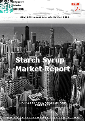 Global Starch Syrup Market Report 2021